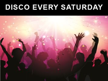 DISCO EVERY SATURDAY